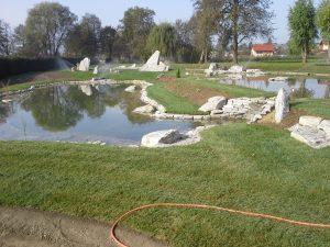 gradnja ribnika